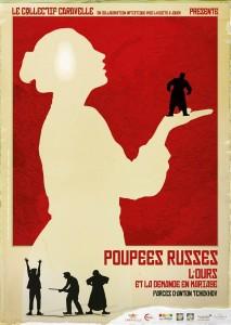 affiche poupées russes