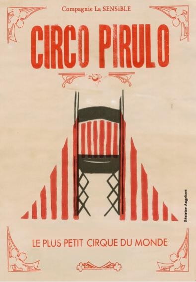 Affiche Circo Pirulo